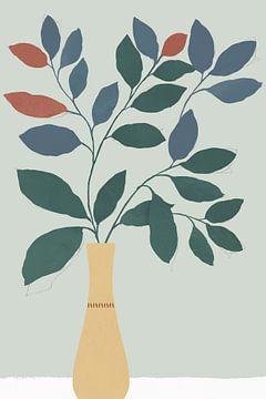 Summer Planter I, Isabelle Z  van PI Creative Art
