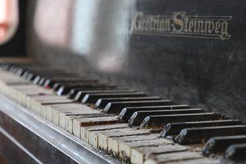 Piano close-up van Tim Vlielander