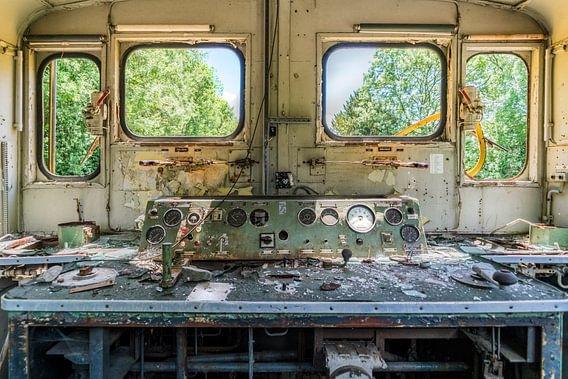 Het uitzicht van de machinist 2.