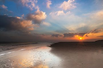 North Sea beach sur AGAMI Photo Agency