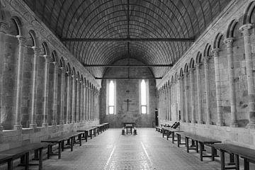 Kapelle Mont St. Michel von Rene van de Esschert