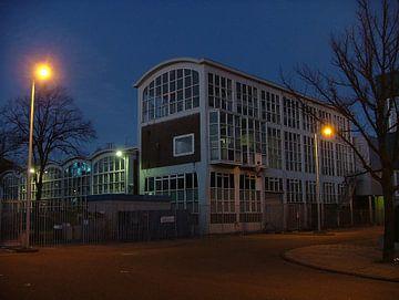 Prachtig kantoor/bedrijfshal/laboratorium in Amsterdam van Dirk Fotografie