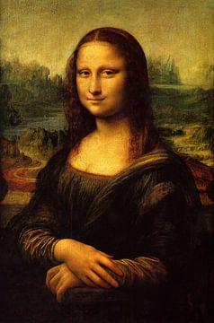 Mona Lisa van Leonardo da Vinci sur