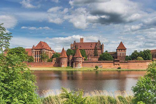 Ordensburg Marienburg, Polen  von