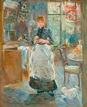 Im Speisesaal, Berthe Morisot