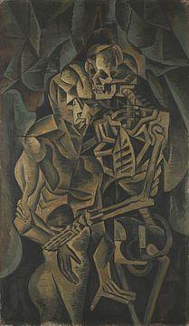 Bohumil Kubišta, le baiser de la mort - 1912 sur Atelier Liesjes