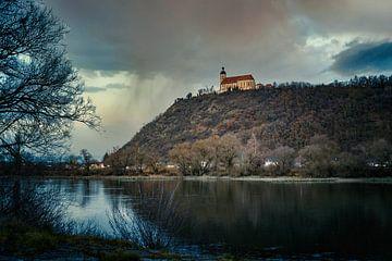 Bogenberg aan de Donau van Thilo Wagner