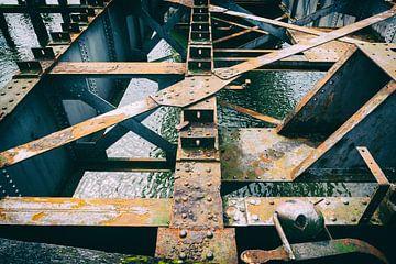 alte Eisenbahnbrücke Geertruidenberg von Eugene Winthagen