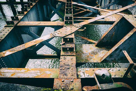 oude spoorbrug Geertruidenberg van Eugene Winthagen