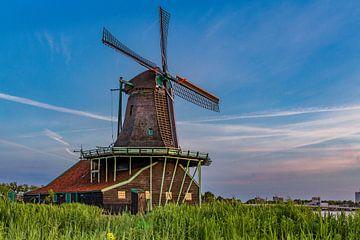Mühle an der Zaanse-Schanze von Jos van de Pas