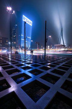 Futuristisch Rotterdam van Vincent Fennis