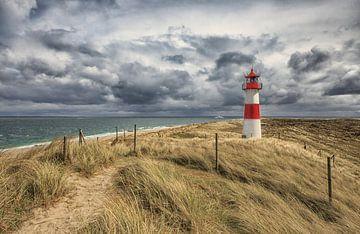 Leuchtturm am Ellenbogen von Annett Mirsberger