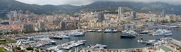 Monaco panorama von Carel van der Lippe
