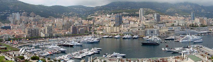 Monaco panorama van Carel van der Lippe
