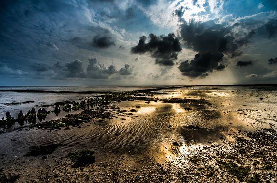 Sunset Terschelling van Lex Scholten