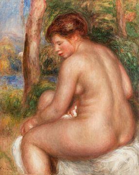 Badender Stern dreiviertel durch, Pierre-Auguste Renoir (1911) von Atelier Liesjes