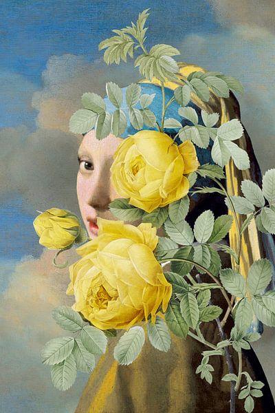 Meisje met de Parel - The Yellow Roses Edition van Marja van den Hurk