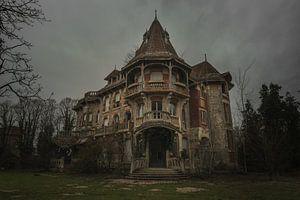 Geisterhaus in Frankreich