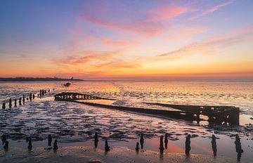Schiffswrack Wierum - Friesland (Die Niederlande)