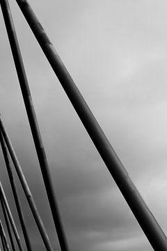 Fahrradbrücke Nijmegen von Joost de Groot