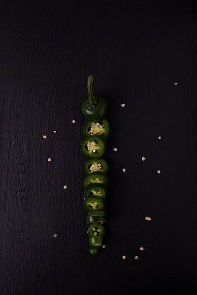 enkele peper 3 van 4 van Anita Visschers