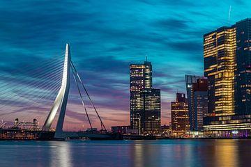 zonsopkomst Veerhaven Rotterdam van Midi010 Fotografie