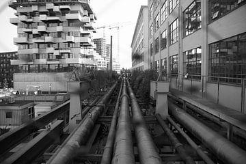 Strijp S Schwarz-Weiß von Niels Berendsen