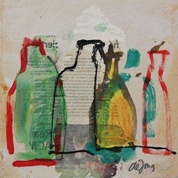 Flessen (4) von Leo de Jong