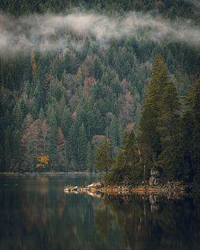 De Eibsee in Beieren van Stefan Schäfer
