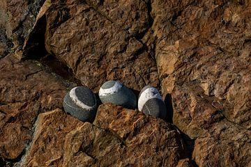 Stenen en rotswand van Sia Windig