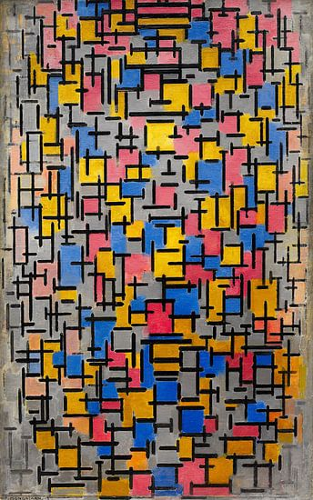Piet Mondriaan. Compositie van 1000 Schilderijen