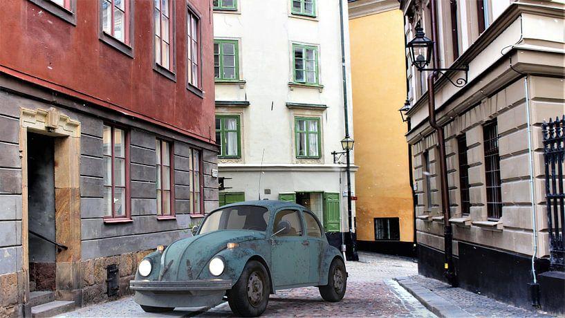 Volkswagen bleu_HMS sur H.m. Soetens
