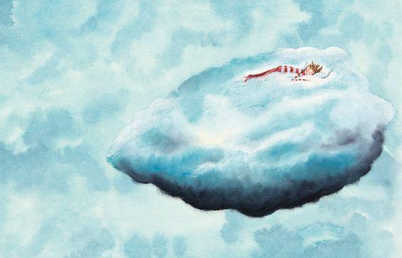 Op een wolk