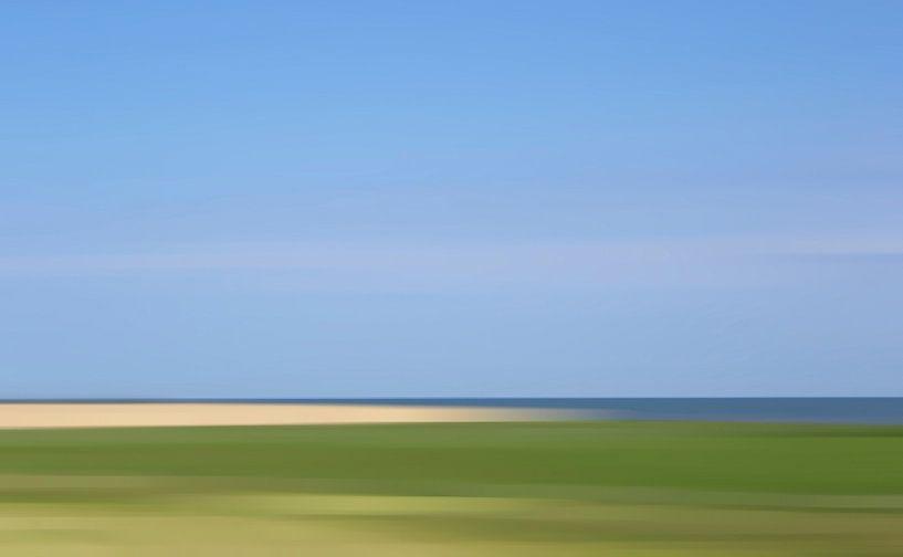 Hollands landschap van Wil van der Velde/ Digital Art