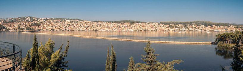 Panorama van Argostoli, Kefalonia van Sven Wildschut
