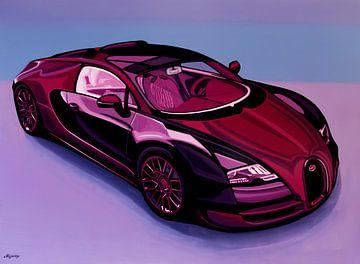 Bugatti Veyron 2005 Gemälde