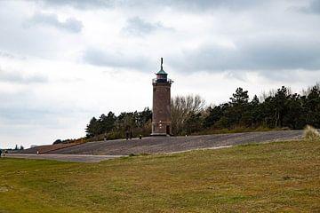Leuchtturm mit Deich Sankt Peter-Böhl von Alexander Wolff