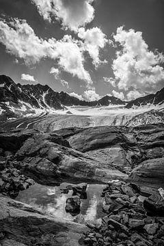 Bachfallen gletscher van Christian Reijnoudt
