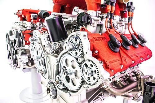 Ferrari motorblok
