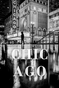 Städte im Regen: Chicago von Christian Müringer