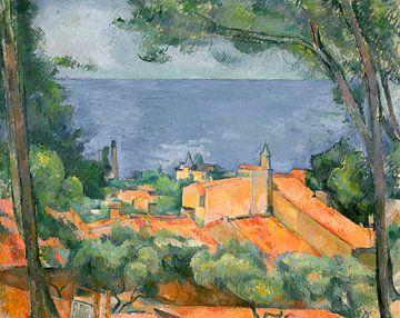 L'Estaque mit roten Dächern, Paul Cézanne