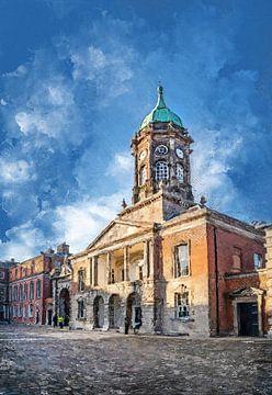 Dublinse aquarelkunst #Dublin van JBJart Justyna Jaszke