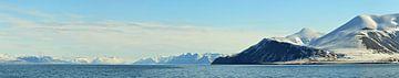 Panorama-Spitzbergen von Renzo de Jonge