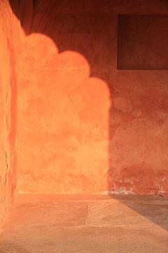 Sunlight walls, Jaipur (gezien bij vtwonen) van Irma Grotenhuis
