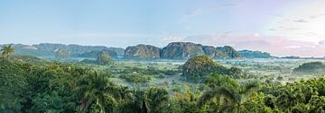 Panorama van Vinales Vallei Cuba van