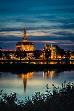 Bovenkerk en Koornmarktspoort, Kampen van Gerrit Veldman