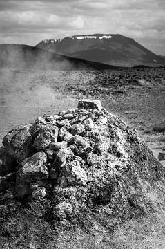 Felsen auf einer vulkanischen Insel | Island von Photolovers reisfotografie