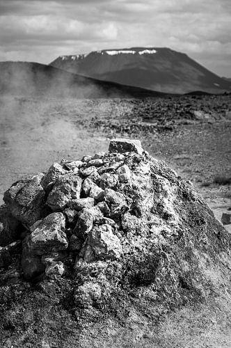 Rots op een vulkanisch eiland | IJsland