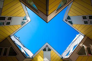 Kubuswoningen recht van beneden van Prachtig Rotterdam