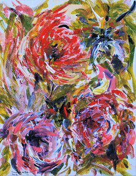 Sommerblumen-Explosion! von Ineke de Rijk